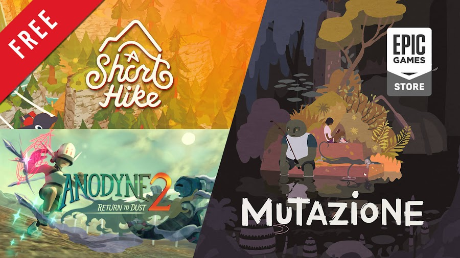 anodyne 2 return to dust a short hike mutazione free pc game epic games store indie adventure exploration game adam robinson-yu analgesic productions platformer supernatural fantasy die gute fabrik akupara games