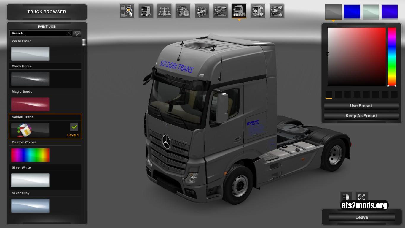 Mercedes MP4 Soldori Trans Skin