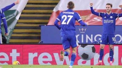 Leicester Mulai Bayangi Pemuncak Klasemen Liga Inggris Setalah Bungkam Southampton