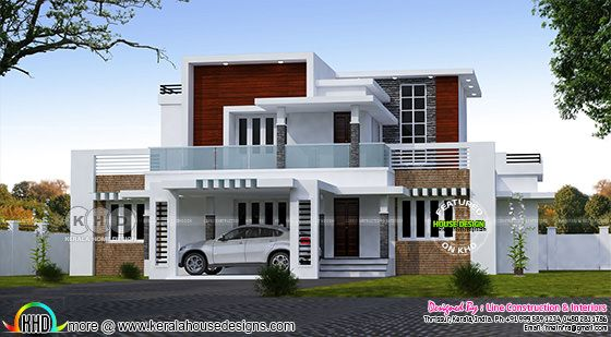 2561 sq ft 4 bedroom contemporary home