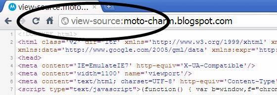 Cara melihat source code