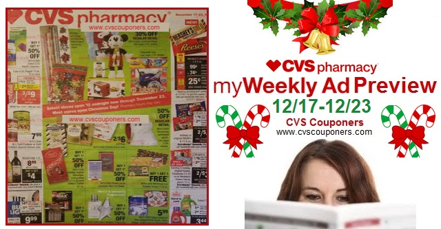 http://www.cvscouponers.com/2017/12/cvs-weekly-ad-preview-12171223.html