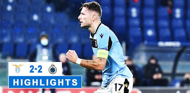 Lazio vs Club Brugge – Highlights