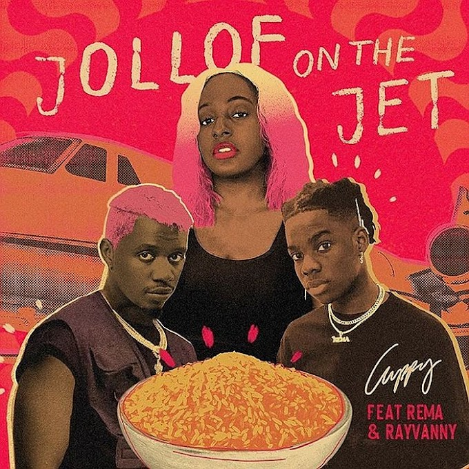 Download Music Mp3:- DJ Cuppy Ft Rema, And Rayvanny – Jollof On The Jet