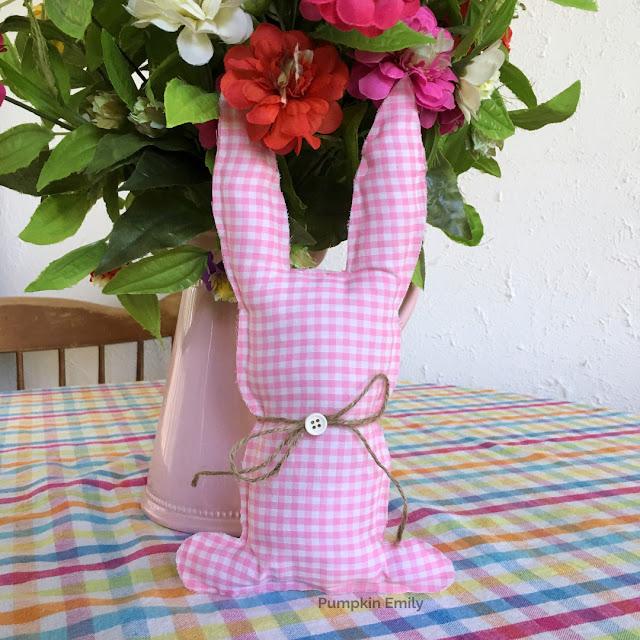 DIY Fabric Bunny