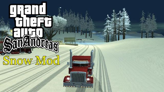 GTA San Andreas Snow Mod For Pc