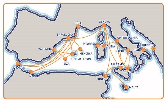 Gnv: nuova linea nelle Baleari