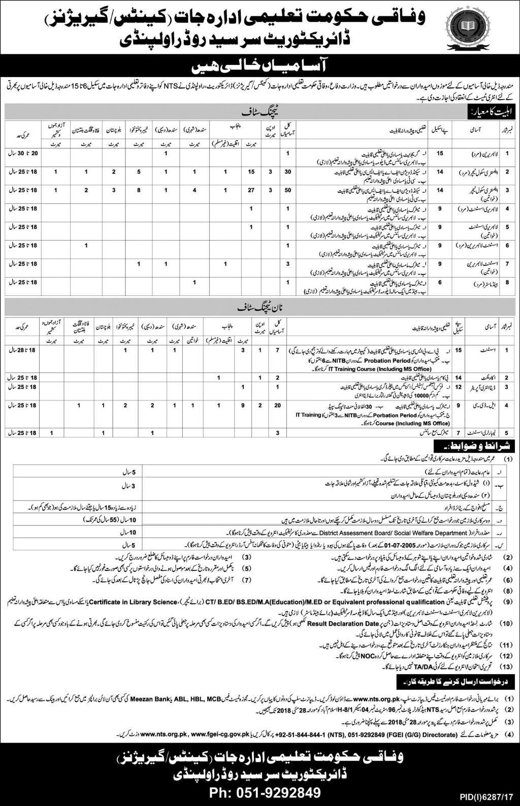 Jobs in Rawalpindi