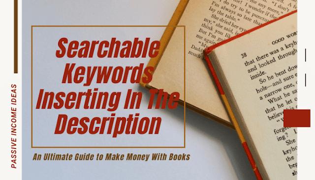 Amazon book searchable keywords selection