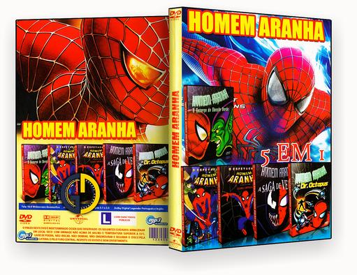CAPA DVD – Coleção – Homem-Aranha Em Desenho (2018) – ISO