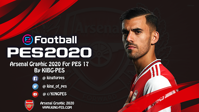 Arsenal Graphic 2020 For PES 17 By KING PES