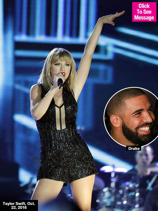 Drake Sends Taylor Swift Love After Epic F1 Show With Sweet Message — Collaborating?