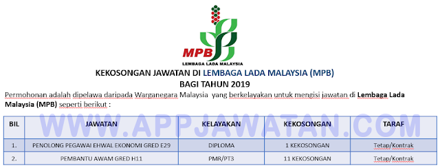 Lembaga Lada Malaysia (MPB)