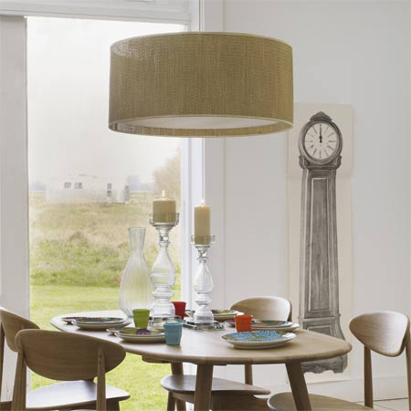 Modern Drum Pendants For Dining Rooms