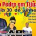 TIJUAÇU REALIZA SUA TRADICIONAL FESTA DE SÃO PEDRO NESTE DOMINGO, 30