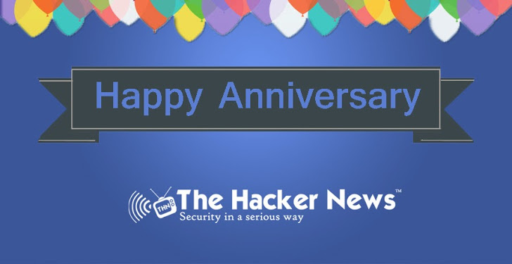 'The Hacker News' Celebrating 3rd Anniversary