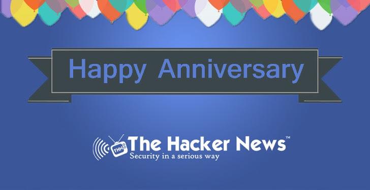 'The Hacker News' Celebrating 3rd Anniversary