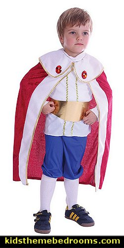 Toddlers King Costume With Red Cape  Little Prince party decorations - Prince Baby Shower - Little Prince Birthday Party supplies -  Little Prince Baby shower cake - Little Prince gold crown cake topper - royal king themed party - Prince themed party - Royal Prince themed baby shower  - Prince and king themed birthday party - Royal themed decorations
