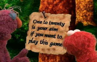 Elmo, Telly, Gabi and Alice find themselves in a game where they have to find the numbers 1 to 20. Sesame Street The Great Numbers Game