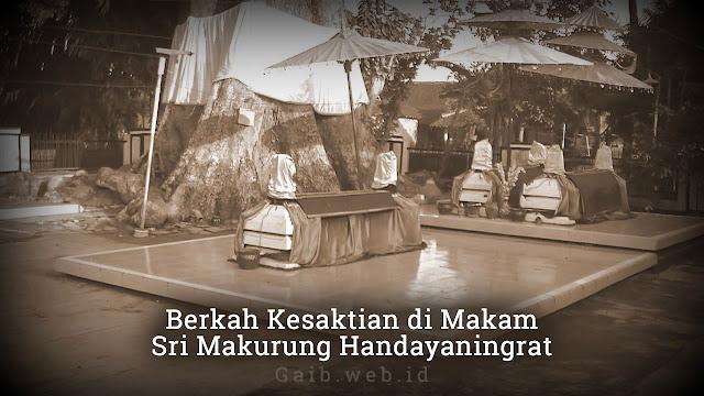 Berkah Kesaktian di Makam Sri Makurung Handayaningrat