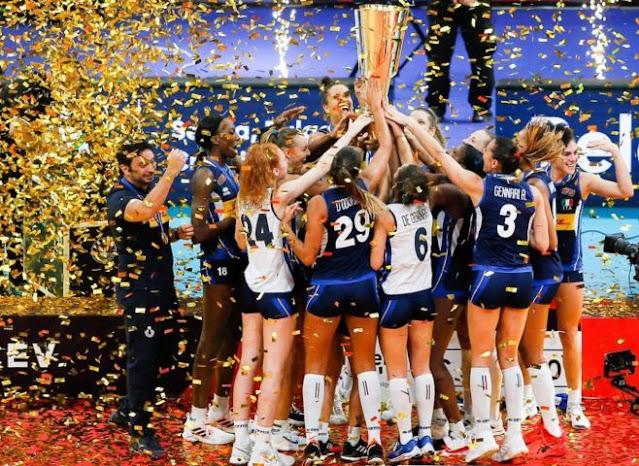 Azzurre della Pallavolo italiana - Conquista del titolo Europeo, 4 settembre 2021