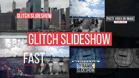 Glitch Slideshow[Videohive][After Effects][15275895]
