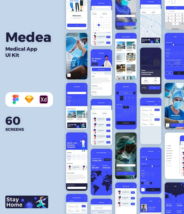 Medical App UI Template