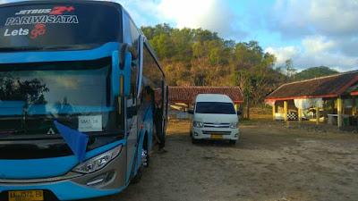 Bus Pariwisata di Jogja