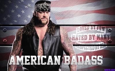 WWE AJ STYLES Undertaker American Badass WM36 Wrestlemania Bone Yard Match