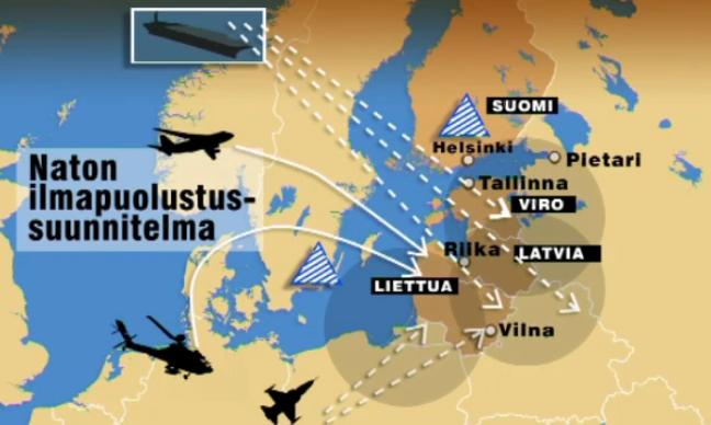 Lacka nato skulle forsvara baltikum