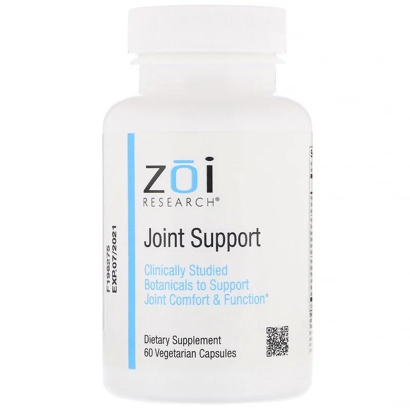 ZOI Research, Поддержка суставов, 60 растительных капсул