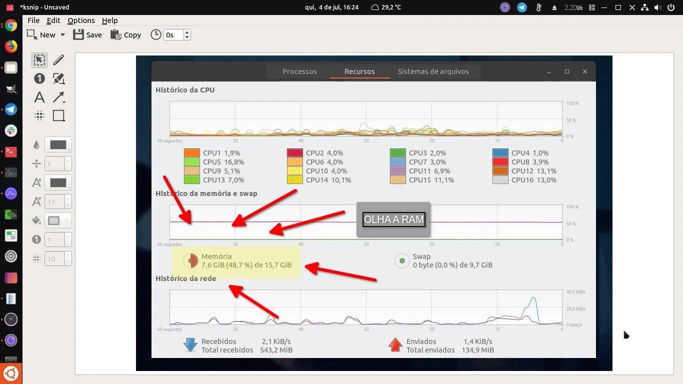 Top 3 melhores apps de captura de tela no Linux - Diolinux