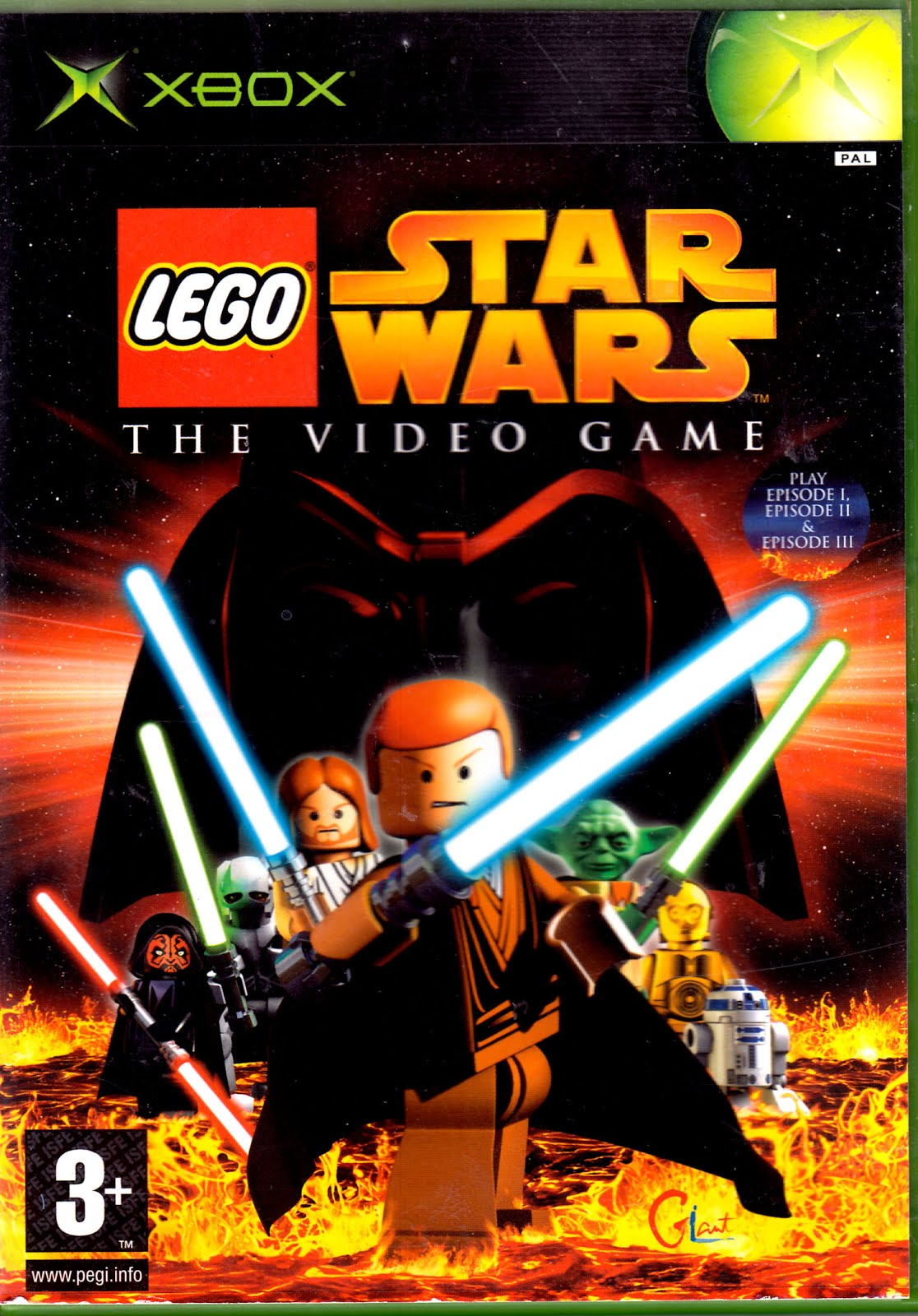 Xbox Clasico Iso S Por Mega Lego Star Wars The Video Game Mega
