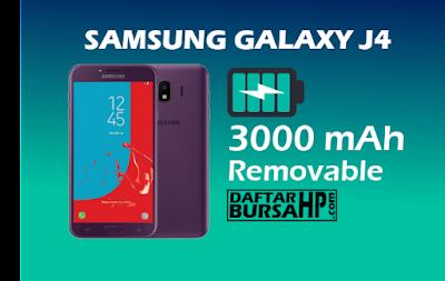 Spesifikasi Baterai Samsung Galaxy J4