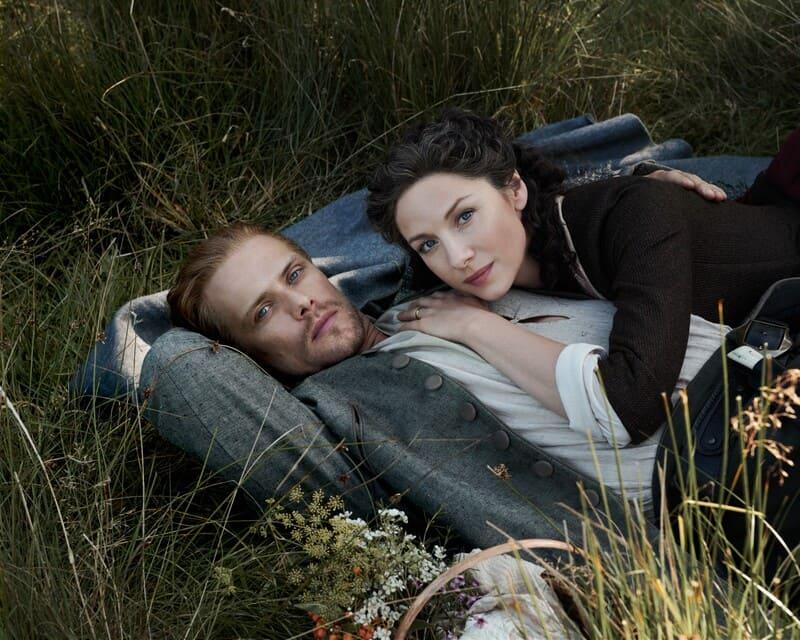 Jamie y Claire en la quinta temporada