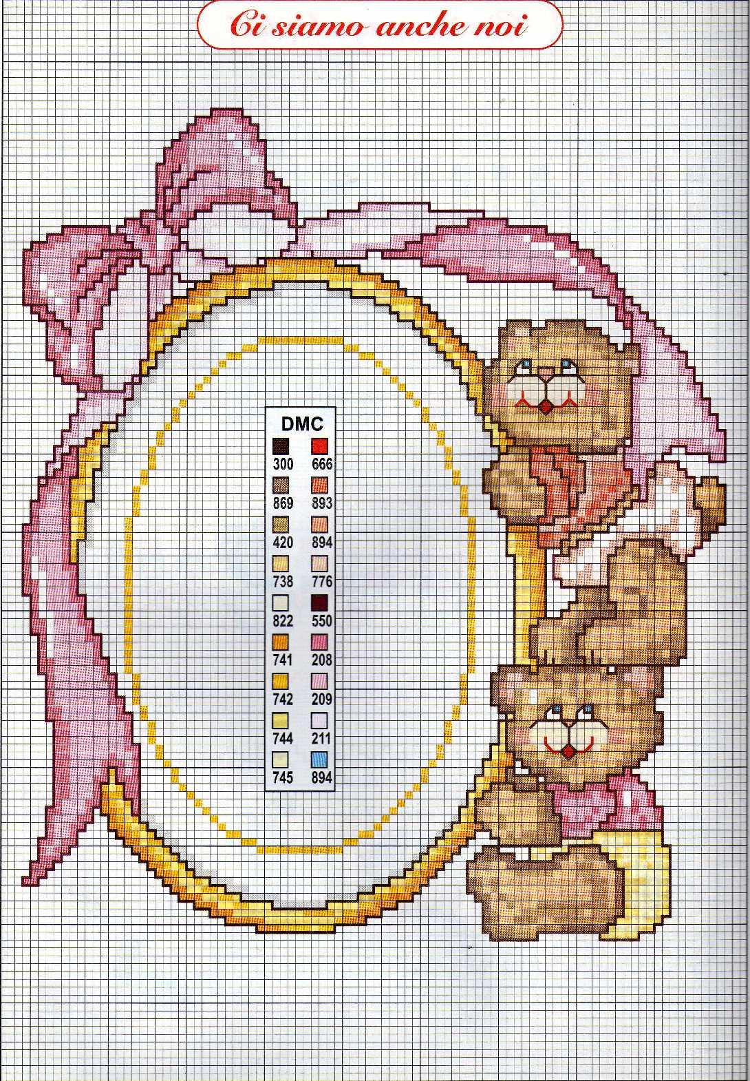 Ricami e schemi a punto croce gratuiti raccolta di schemi for Immagini punto croce per bambini