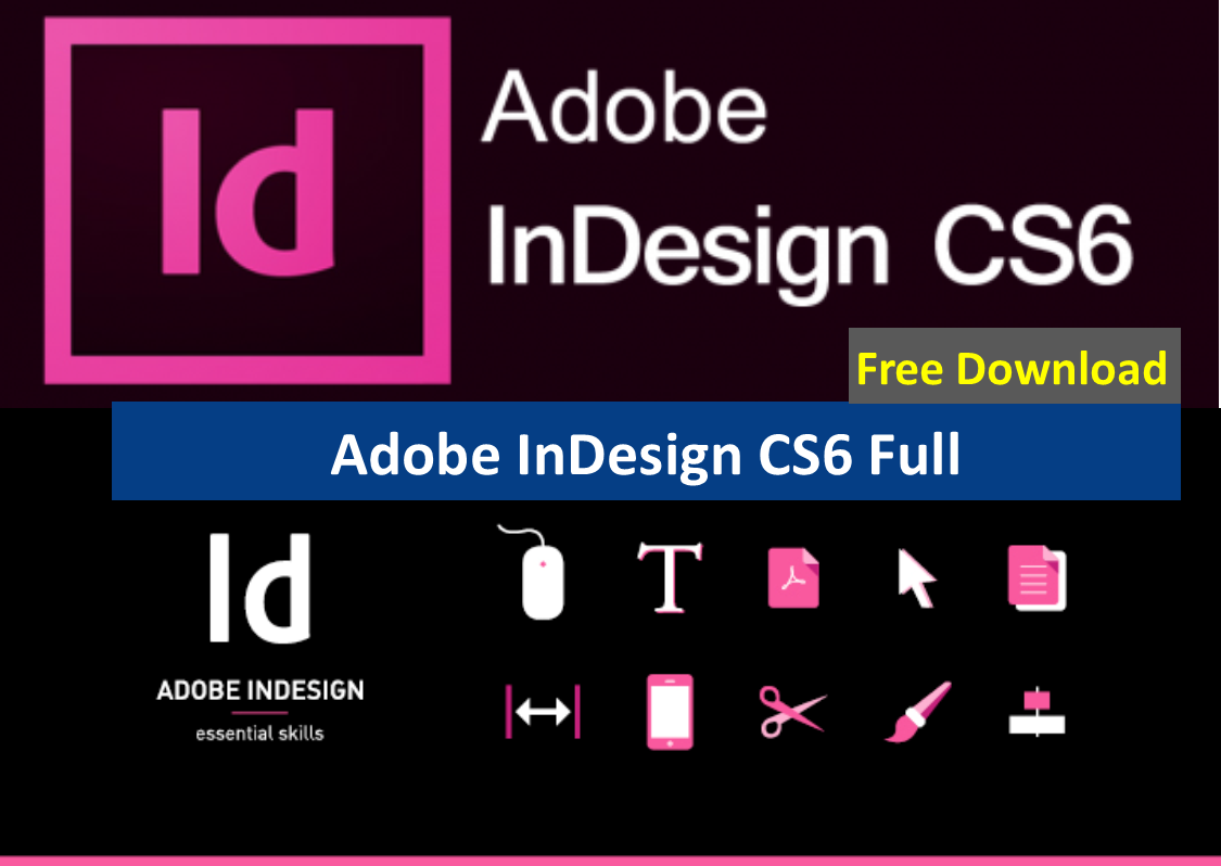 adobe indesign cs6 free download with crack for windows