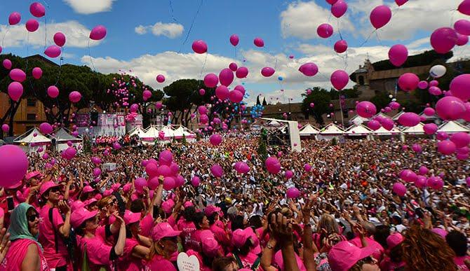 RACE FOR THE CURE, la più grande manifestazione per la lotta ai tumori del seno in Italia e nel mondo