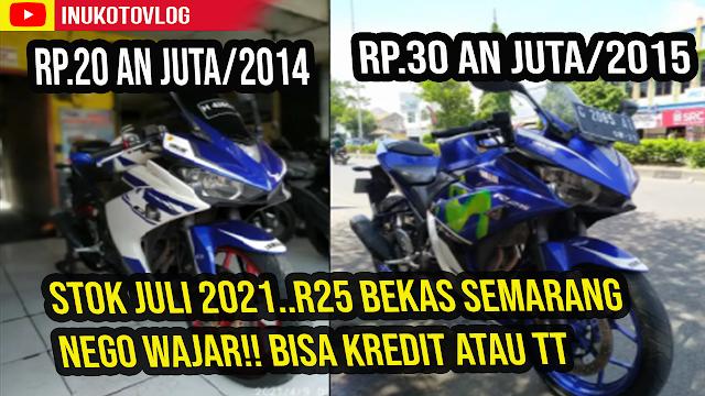 Harga R25 2021 Bekas Semarang Jawa Tengah