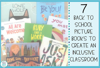 back to school books for inclusive classroom