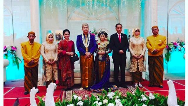 Momen Mengharukan Saat Presiden Jokowi Hadiri Nikahan Anggota Paspampres Supir Mobil Kepresidenan, Orang Tua Mempelai Sampai....