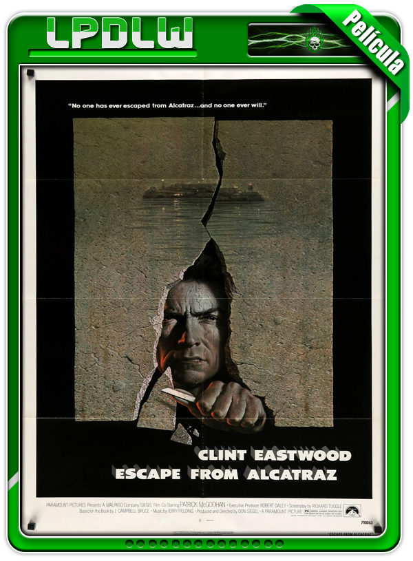 Escape from Alcatraz (1979) | 720p H264 Dual [Clásico]
