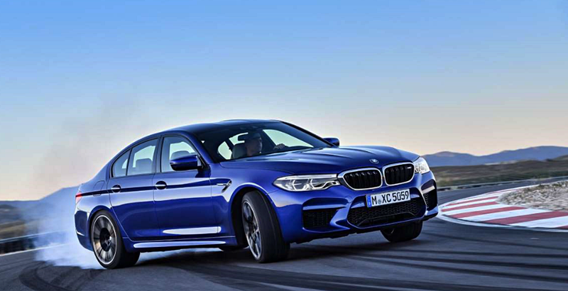 All-New 2018 BMW M5 xDrive Engine Performance