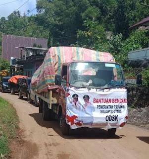 ODSK Terus Kirimkan Bantuan Kepada Korban Banjir dan Tanah Longsor di Sangihe