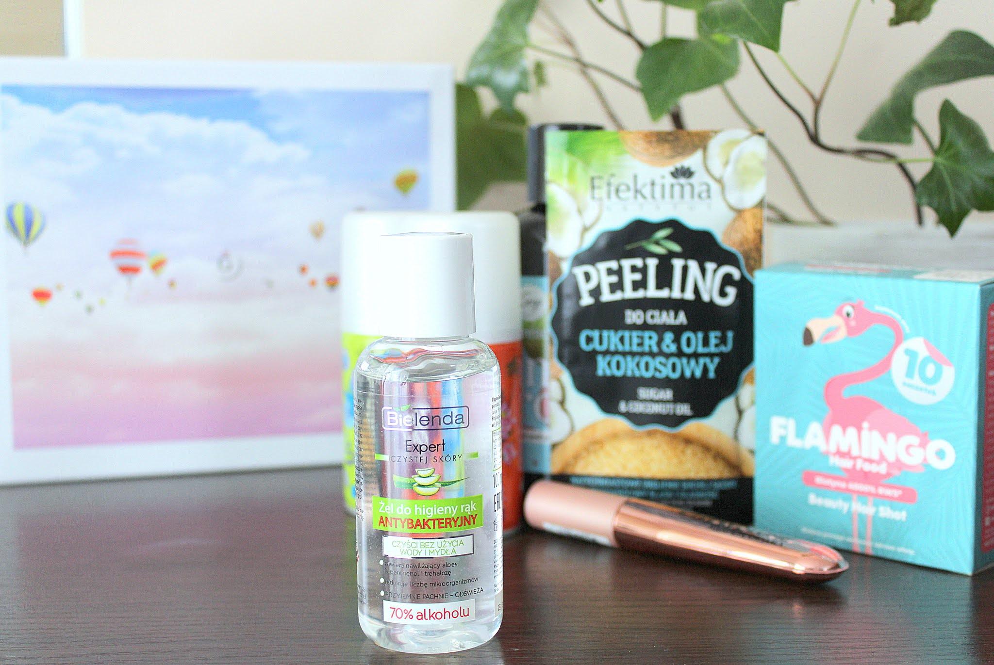 Bielenda Kosmetyki naturalne - Expert czystej skóry, Antybakteryjny żel do higieny rąk