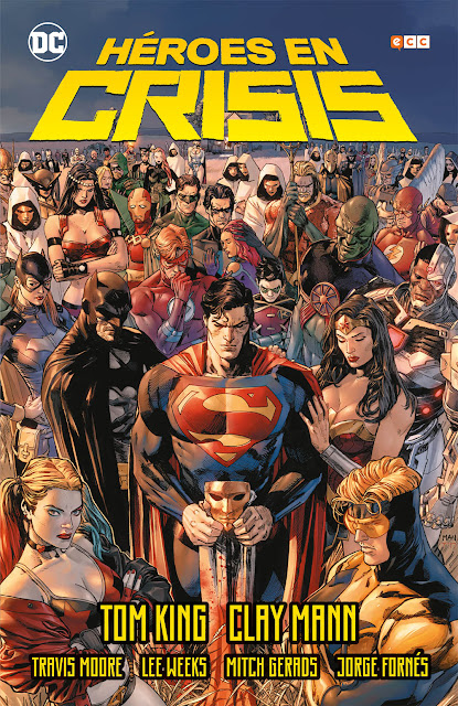 Reseña de Héroes en Crisis, de Tom King - ECC Ediciones