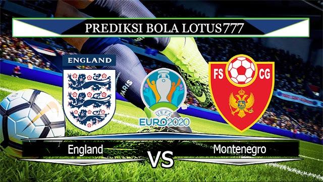 Prediksi England vs Montenegro 15 November 2019