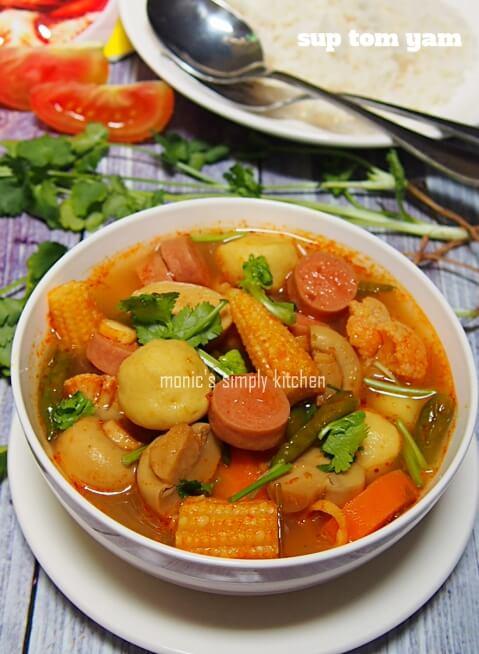 resep sup tom yam