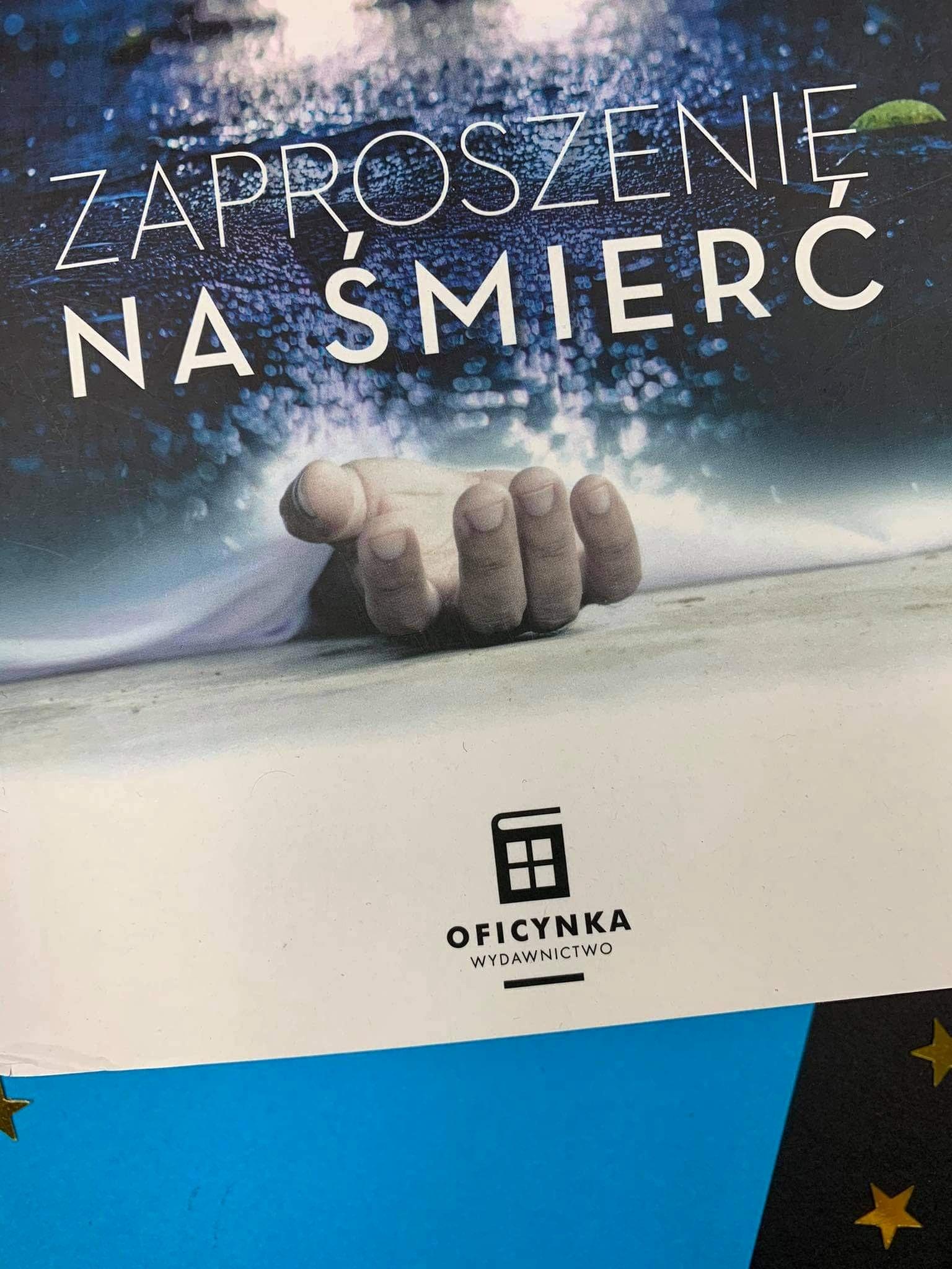 """""""Zaproszenie na śmierć"""" Alfred Siatecki , Oficynka"""