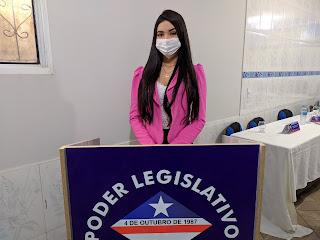 Vereadora Bia do Posto diz: Sou grata a Deus e a população zedoquense que me colocou na Câmara Municipal.
